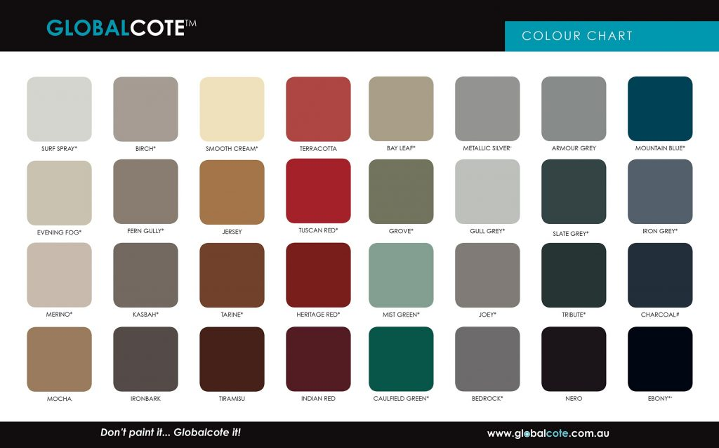 Be Inspired With Colour Globalcote Paint Manufacturer