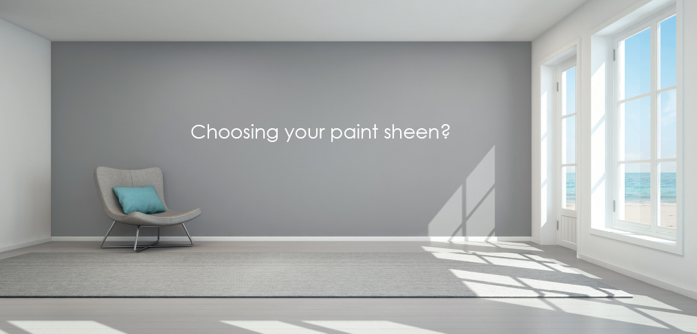 how to pick paint sheen