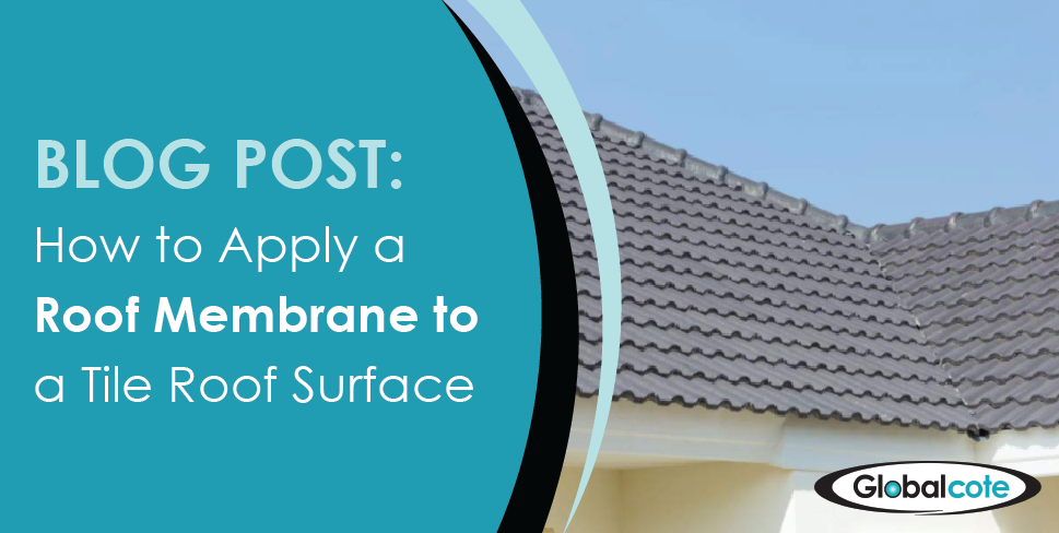 How to Apply A Roof Membrane to Tile Roof Surface