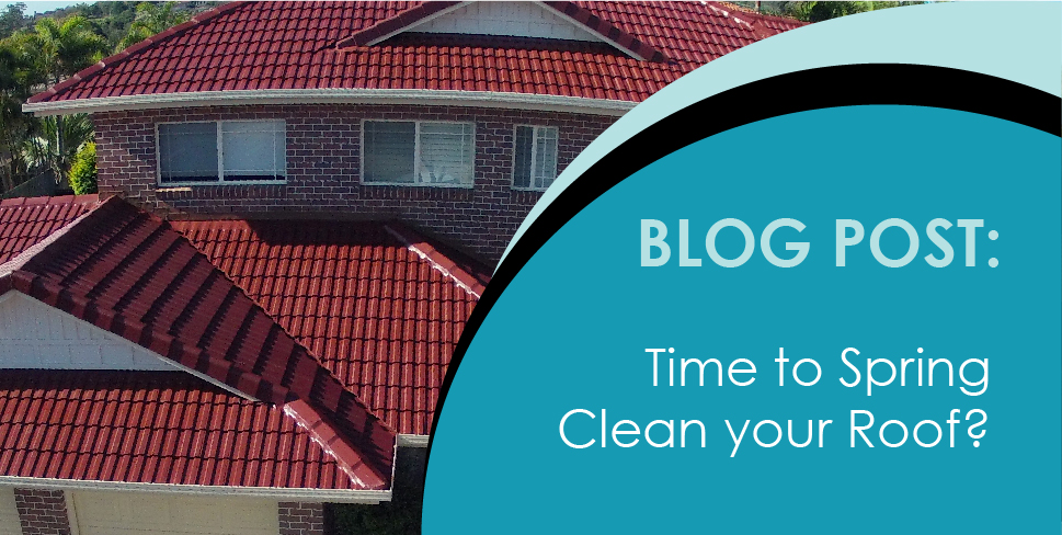 Spring cleaning your roof
